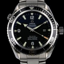 Omega Seamaster Planet Ocean STEEL/ RUBBER 2008 unpolished