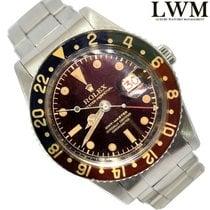 Rolex GMT Master 6542 OCC galvanic brown dial Bakelite bezel 1958