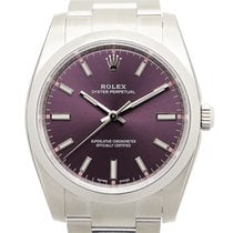 勞力士 Oyster Perpetual Stainless Steel Purple Automatic 114200PUR_O