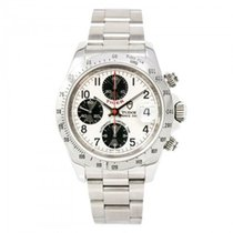 Tudor Prince Date 79260p Mens Automatic Watch Silver Dial...