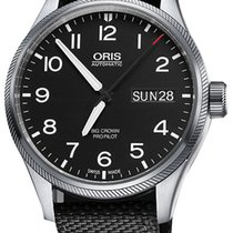 Oris Big Crown ProPilot Day Date Steel 45mm Black United States of America, New York, Airmont
