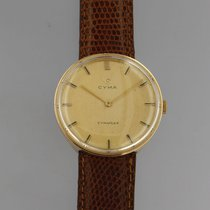 Cyma Yellow gold 33,5mm Manual winding pre-owned