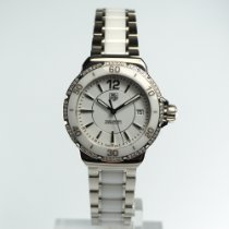 TAG Heuer Formula 1 Lady Staal 37mm Wit