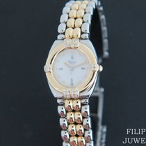 Chopard Gstaad Gold/Steel 25mm White