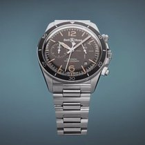 Bell & Ross Steel 41mm Automatic BRV294-HER-ST/SST new