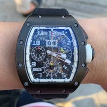理查德•米勒 計時碼錶 50mm 自動發條 2011 二手 RM 011 透明