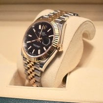 Rolex Datejust 41MM Oyster Perpetual Watch Black Dial with...