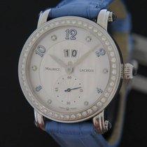 Maurice Lacroix Dameshorloge Masterpiece 35mm Automatisch nieuw Horloge met originele doos en originele papieren 2017