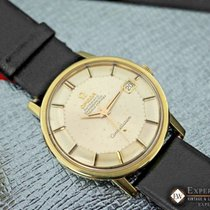 Omega Constellation Gold on Steel Cal 564 168.010 Pie Pan 1970s