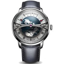 Arnold & Son 45mm Manual winding 2018 new Silver