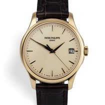 Patek Philippe Calatrava pre-owned 39mm Yellow gold