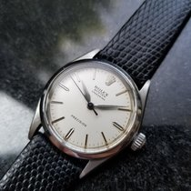 Rolex 30mm Manual winding 1962 pre-owned Oyster Precision Silver