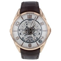 Milus Rose gold 45mm Automatic TIRI403 new