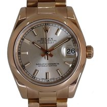 Rolex Lady-Datejust Rose gold 31mm Silver No numerals United Kingdom, Wilmslow
