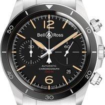 Bell & Ross BR V2 BR-V2-94-STEEL-HERITAGE-SST new