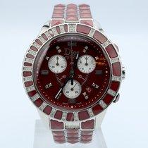 Dior Chronograph 45mm Quartz new Christal Red