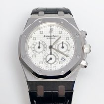 Audemars Piguet Royal Oak Chronograph White gold 39mm Silver No numerals United States of America, New York, New York