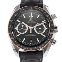 Omega Speedmaster Racing Gold/Steel 44.2mm Grey No numerals United States of America, Florida, Hollywood