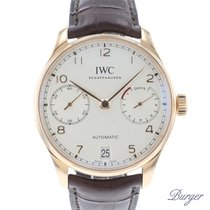 IWC Portuguese Automatic Rose gold 42.3mm Arabic numerals
