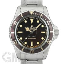 Rolex 5512 Acero Submariner (No Date) 40mm usados