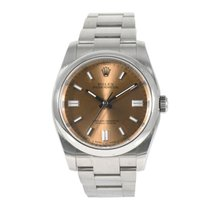 Rolex Oyster Perpetual 36 Acero 36mm Champán