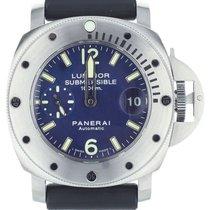 Panerai Luminor Submersible Steel 44mm Blue