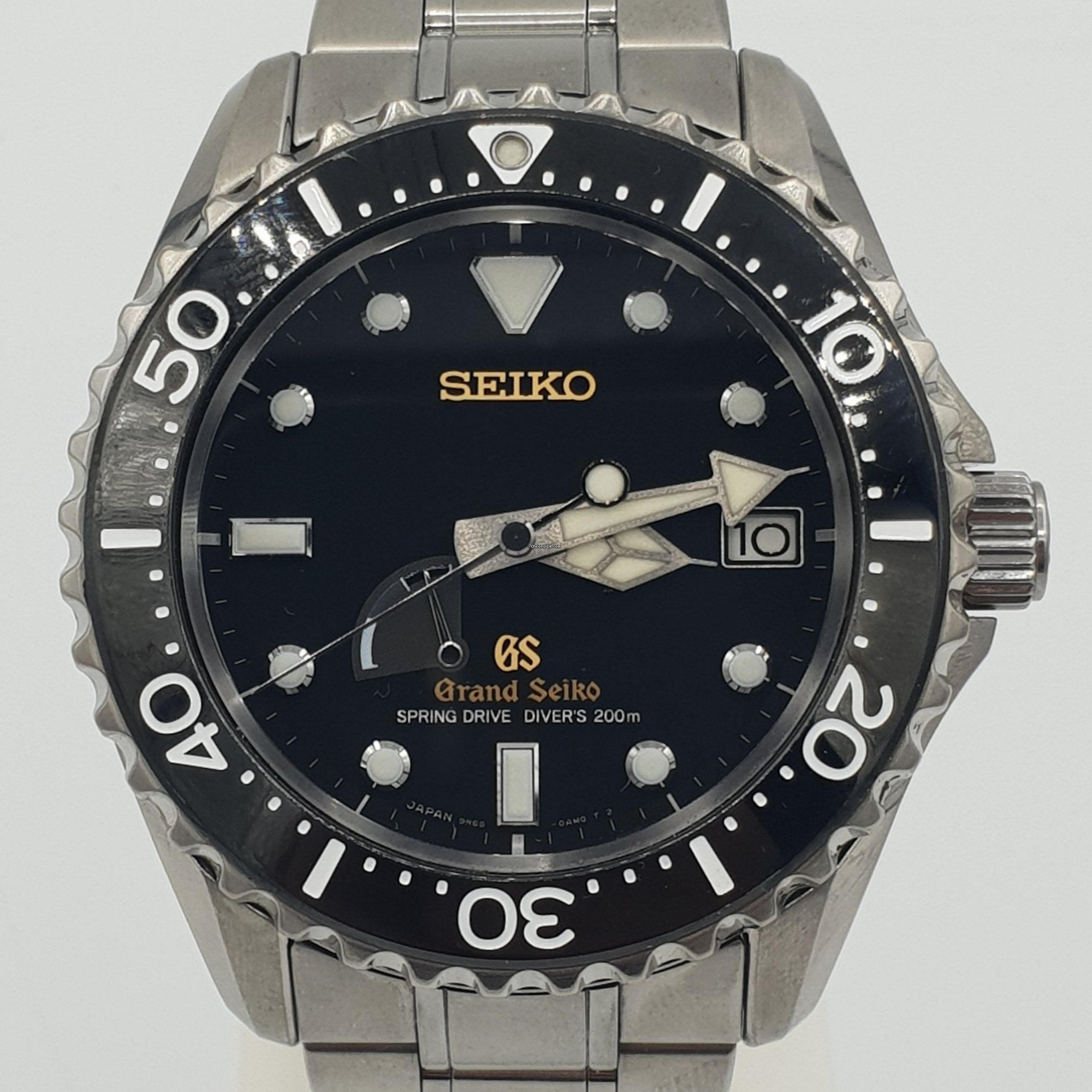 cheap for discount 35146 b4b1c Seiko Diver SBGA031 Cal.9R65 Spring Drive Power Reserve ...