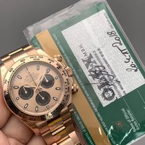 롤렉스 핑크골드 자동 핑크 숫자없음 40mm 중고시계 데이토나