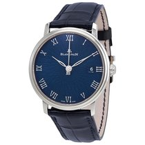 Blancpain Villeret Ultra-Slim White gold 38mm Blue Roman numerals United States of America, Florida, Miami