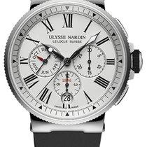 Ulysse Nardin Marine Chronograph Steel 43mm White