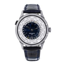 Patek Philippe World Time White gold 36mm White No numerals United States of America, New York, New York