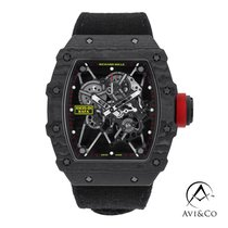 Richard Mille RM 035 Carbon 50mm Transparent No numerals