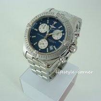 Breitling Colt Chronograph Steel 41mm Blue No numerals