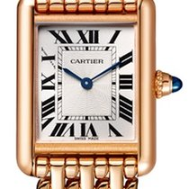 Cartier Tank Louis Cartier Rose gold 29.5mm Silver Roman numerals