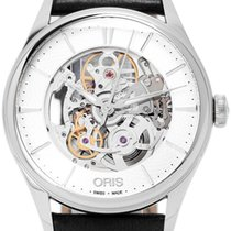 Oris Artelier Skeleton Acero 39mm