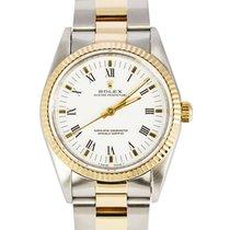Rolex Datejust Gold/Steel 34mm White Roman numerals United Kingdom, London