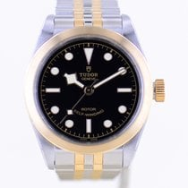 Tudor Black Bay 32 Gold/Steel 32mm Black No numerals