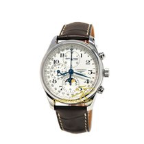 Longines Master Collection L2.773.4.78.3 Longines Automatic Moon Phase Chrono Day&Date new