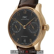 IWC Rose gold Automatic Arabic numerals 42mm new Portuguese Automatic