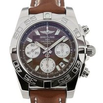 Breitling Chronomat 41 Chronograph Brown Dial Cal. B01