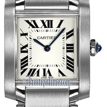 Cartier Tank Française Steel 25mm Silver United States of America, New York, Airmont