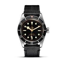 Tudor HERITAGE BLACK BAY Dark Aged Leather Bezel Dial 41 79230 N