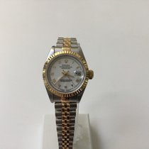 Rolex Lady-Datejust 26 mm white dial roman numbers  1994