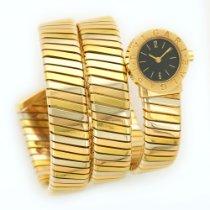 Bulgari Tri-Color Gold Serpenti Tubogas Snake Watch
