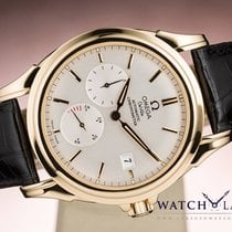 Omega DE VILLE CO-AXIAL POWER RESERVE DATE - BOX & PAPERS