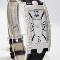 "哈利温•斯顿 "" Avenue C 330-LQW "" Watch 18K White Gold - Complete"