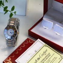 Cartier 21 Must de Cartier usados 31mm Acero y oro