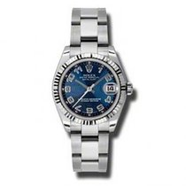 Rolex Lady-Datejust Steel 31mm Blue Arabic numerals United States of America, Pennsylvania, Holland