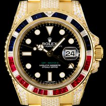 Rolex GMT-Master II Yellow gold 40mm Black No numerals United Kingdom, London