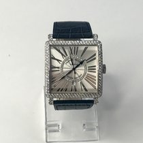 Franck Muller new Automatic White gold Sapphire Glass